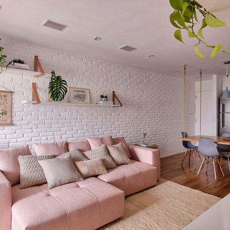 Thiết kế căn hộ phong cách Scandinavian với gam màu Pastel ấm áp