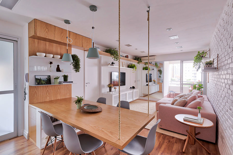 Thiết kế căn hộ phong cách Scandinavian với gam màu Pastel ấm áp thiet ke can ho hien dai 6