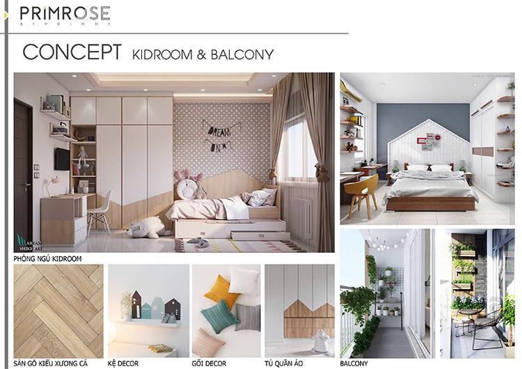 Thiết kế nội thất căn hộ Nam Long phong cách hiện đại can ho mau 1