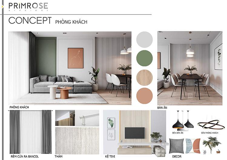 Thiết kế nội thất căn hộ Nam Long phong cách hiện đại can ho mau 18