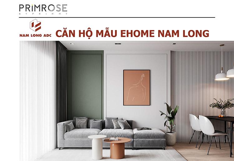 Thiết kế nội thất căn hộ Nam Long phong cách hiện đại can ho mau 3