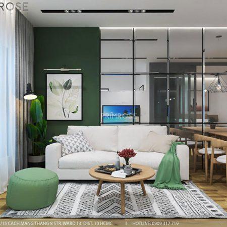 Mẫu thiết kế nội thất căn hộ dự án Waterpoint Nam Long