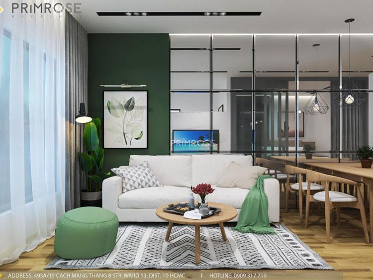 Mẫu thiết kế nội thất căn hộ dự án Waterpoint Nam Long thiet ke noi that can ho ehome nam long 13