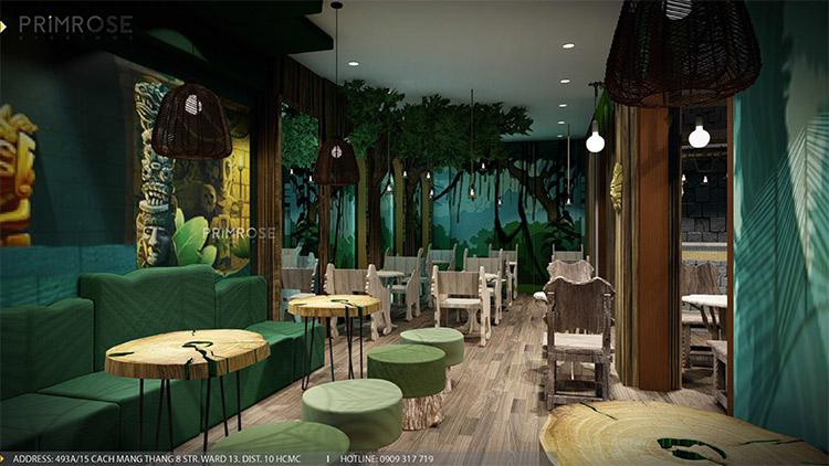 YoFresh – thiết kế quán trà sữa theo phong cách rừng nhiệt đới giữa lòng thành phố thiet ke quan tra sua yogurt ver 2 1 4