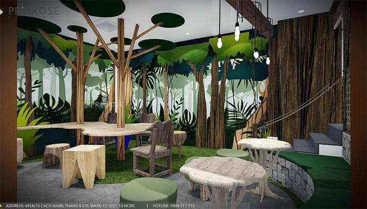 YoFresh – thiết kế quán trà sữa theo phong cách rừng nhiệt đới giữa lòng thành phố thiet ke quan tra sua yogurt ver 2 1 6