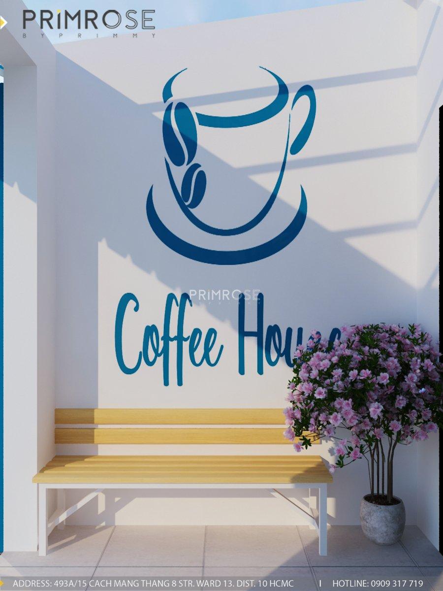 Cafe santoria - Không gian đậm chất Địa Trung Hải THIET KE QUAN CAFE DEP 13