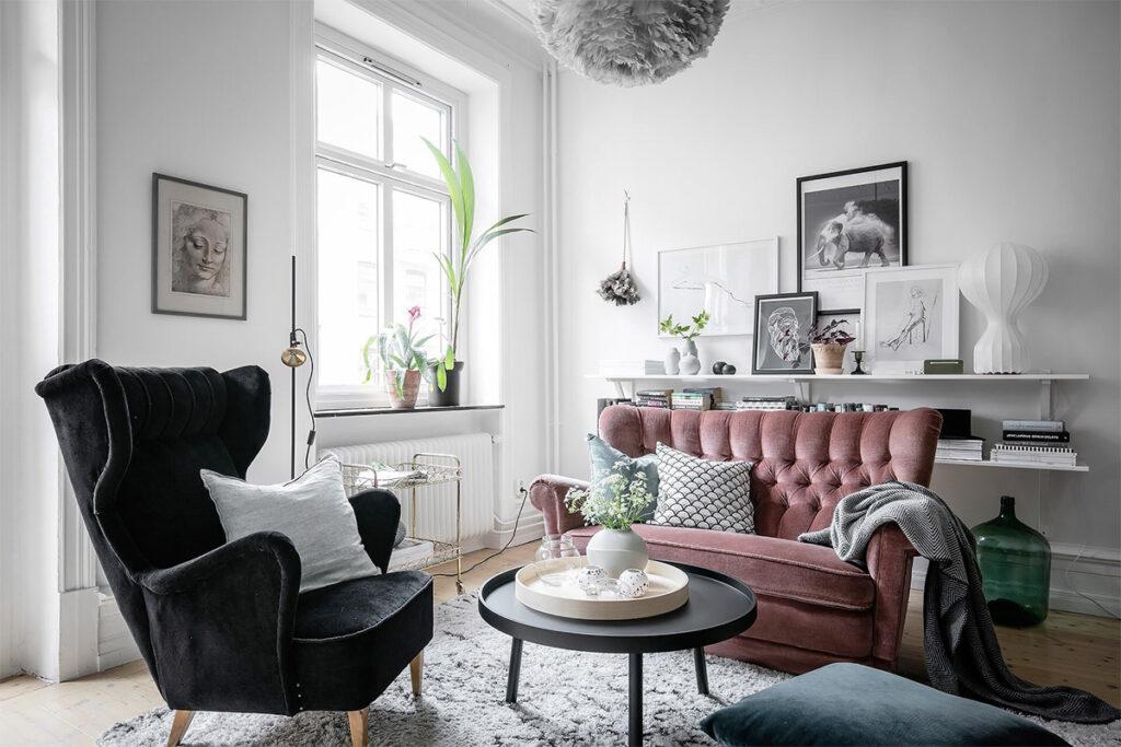Thiết kế căn hộ nhỏ xinh với phong cách Scandinavian thiet ke can ho nho phong cach scandinavian 3