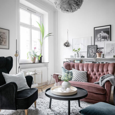 Thiết kế căn hộ nhỏ xinh với phong cách Scandinavian