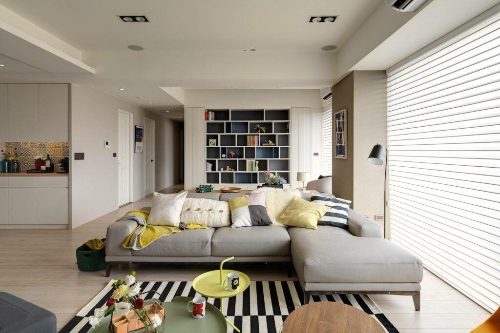 Sự phá cách trong căn hộ phong cách Bắc Âu thiet ke can ho scandinavian dep1