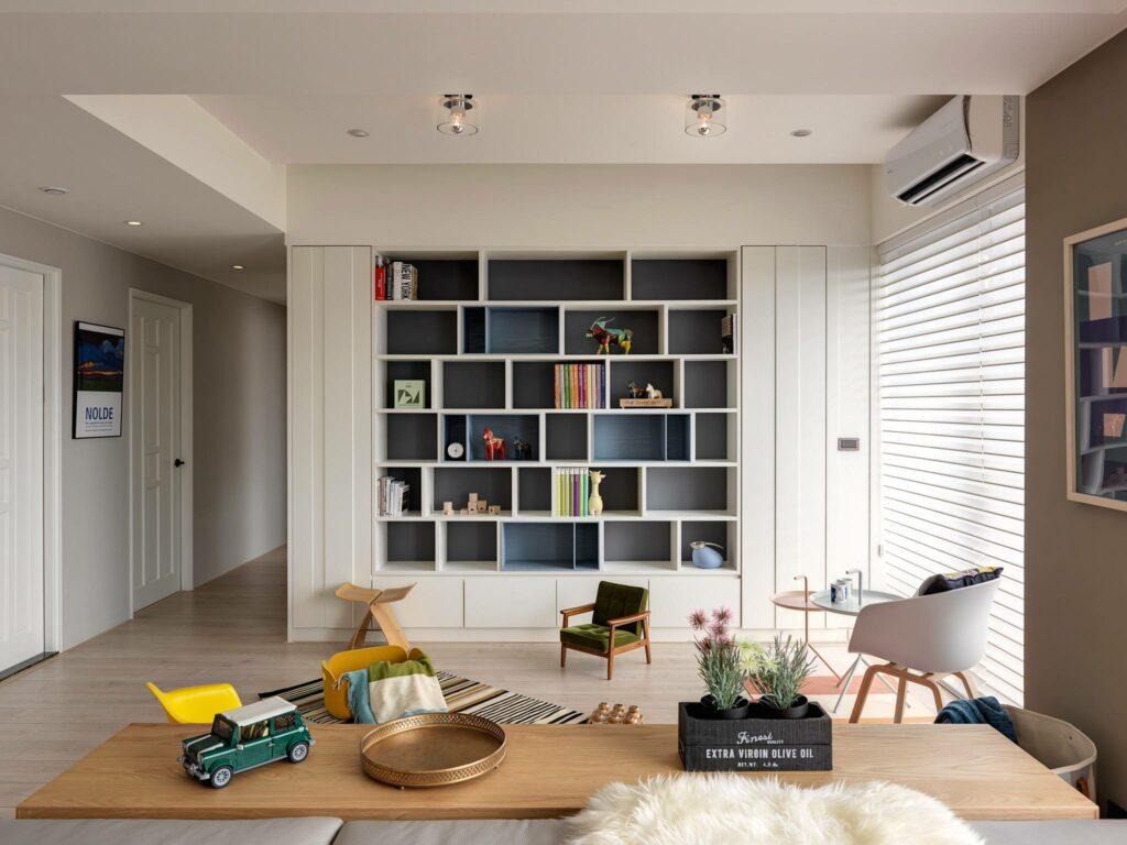 Sự phá cách trong căn hộ phong cách Bắc Âu thiet ke can ho scandinavian dep8