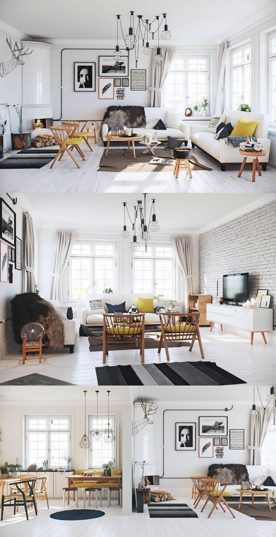 Thiết kế nội thất phong cách Scandinavian - Xu hướng hiện đại thiet ke noi that Scandinavian2