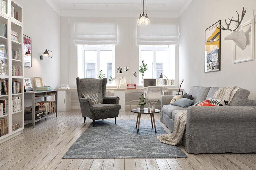 Thiết kế nội thất phong cách Scandinavian - Xu hướng hiện đại thiet ke noi that Scandinavian3