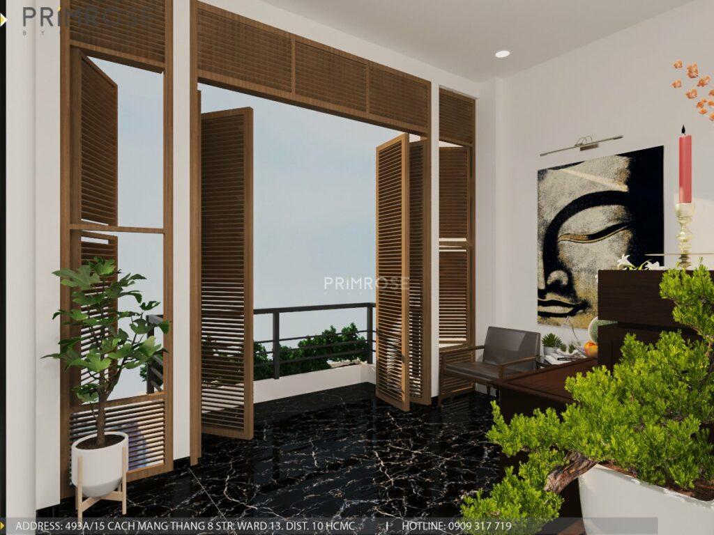 Thiết kế nội thất nhà phố 1 trệt 1 lầu diện tích 150m2 thiet ke noi that nha pho hien dai 1 1