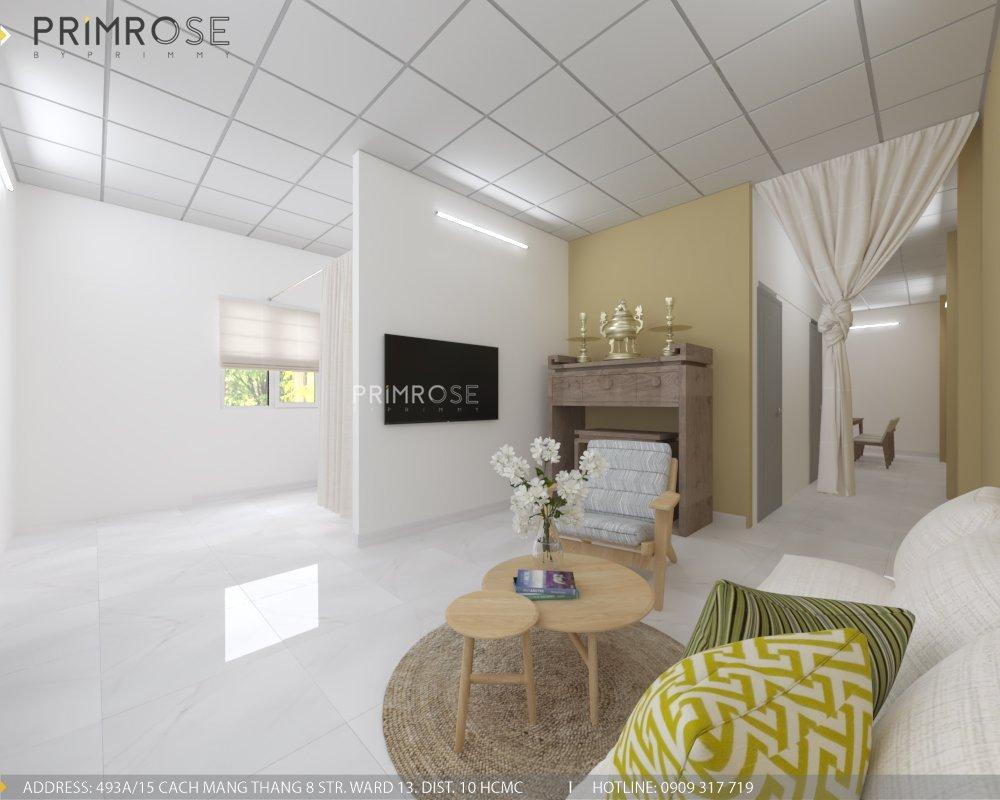 Thiết kế nội thất nhà phố phong cách hiện đại tại Thủ Đức thiet ke noi that nha pho hien dai 1