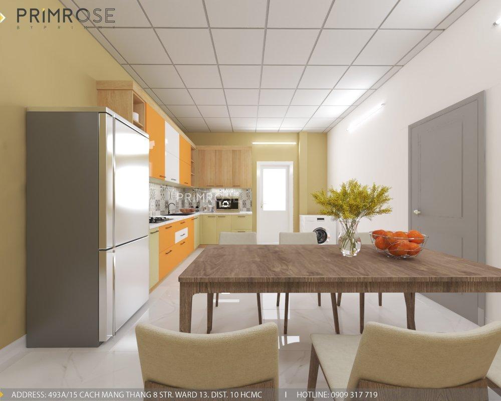 Thiết kế nội thất nhà phố phong cách hiện đại tại Thủ Đức thiet ke noi that nha pho hien dai 5