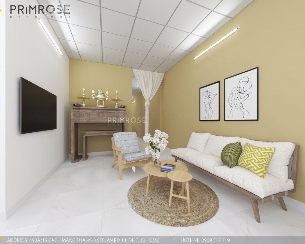 Thiết kế nội thất nhà phố phong cách hiện đại tại Thủ Đức thiet ke noi that nha pho hien dai 6