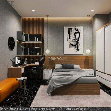 Thiết kế nội thất nhà phố 1 trệt 1 lầu diện tích 150m2
