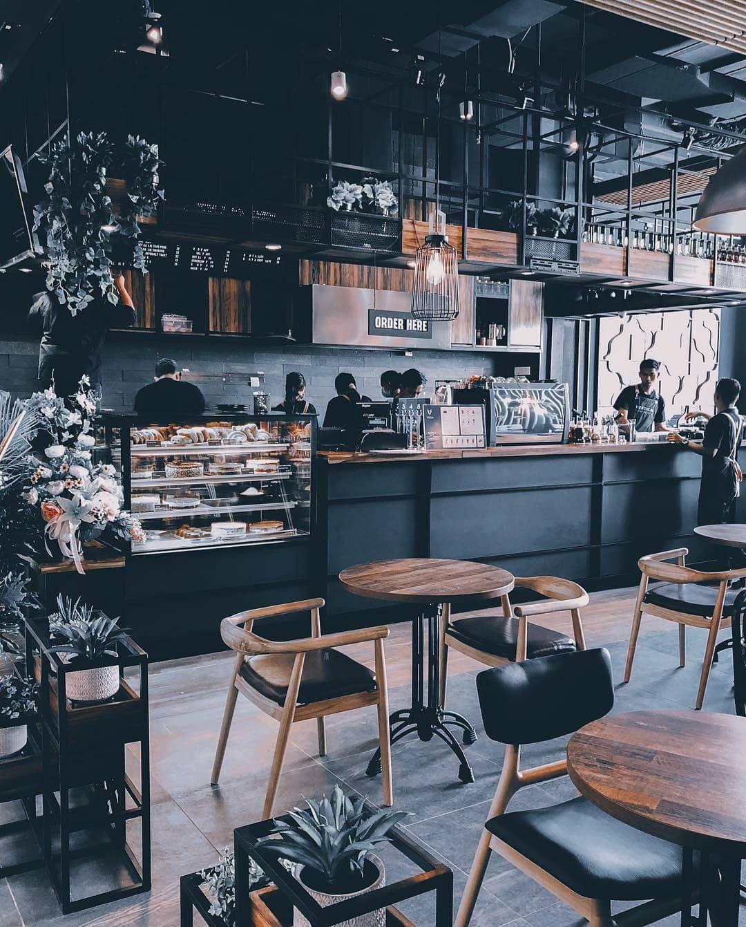 5 Phong cách quán cafe hot nhất hiện nay thiet ke quan cafe cong nghiep 1