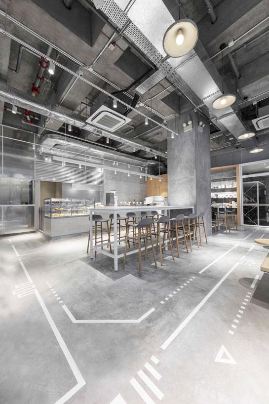 5 Phong cách quán cafe hot nhất hiện nay thiet ke quan cafe cong nghiep 2