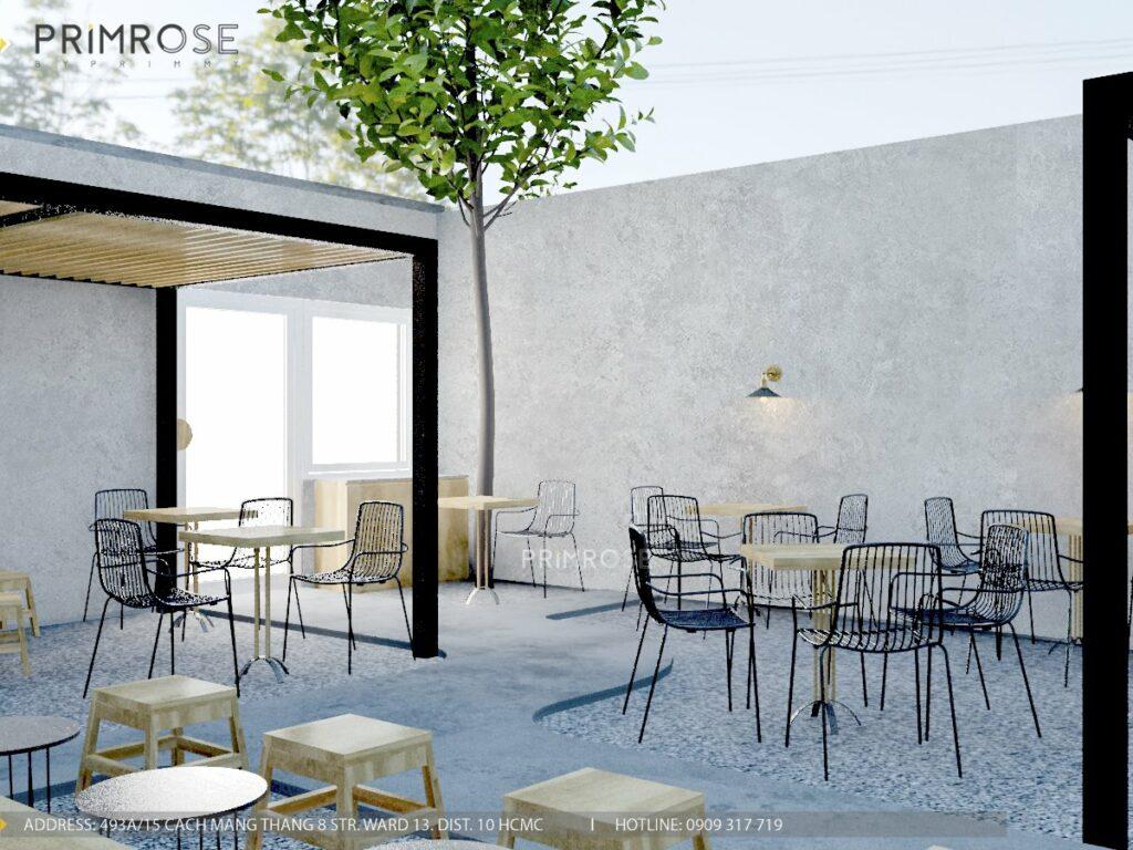 Thiết kế quán cafe Lounge Smile 700m2 thiet ke quan cafe hien dai 1 1