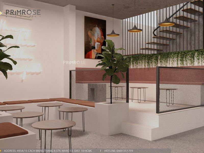 Thiết kế quán cafe Lounge Smile 700m2 thiet ke quan cafe hien dai 10 1