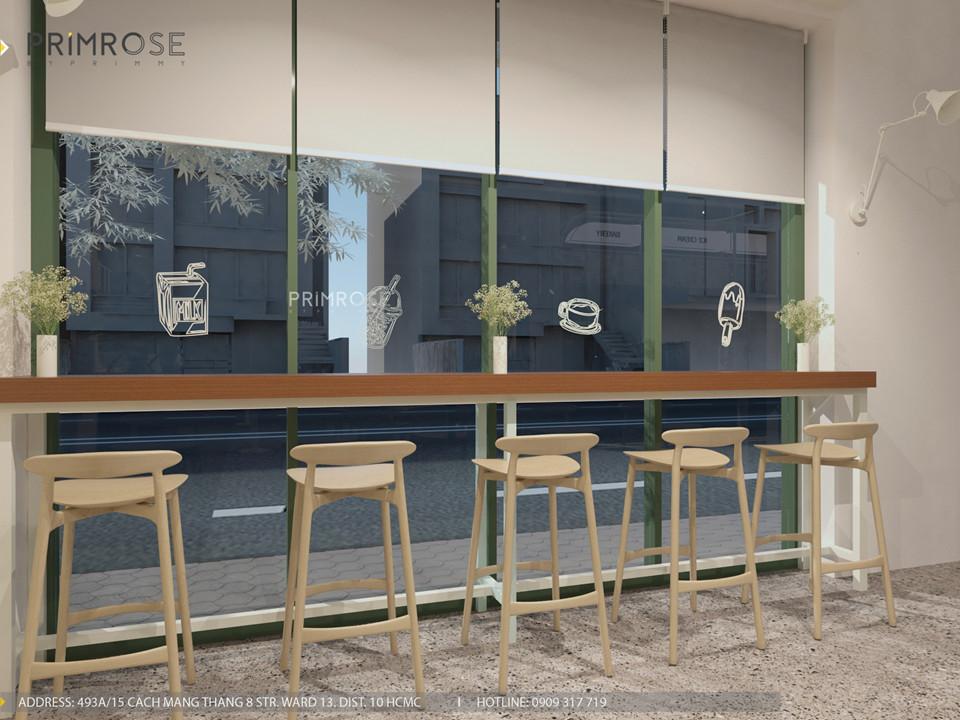 Thiết kế quán The Chillin Tea & Coffee 750m2 tại Bà Rịa, Vũng Tàu thiet ke quan cafe hien dai 11