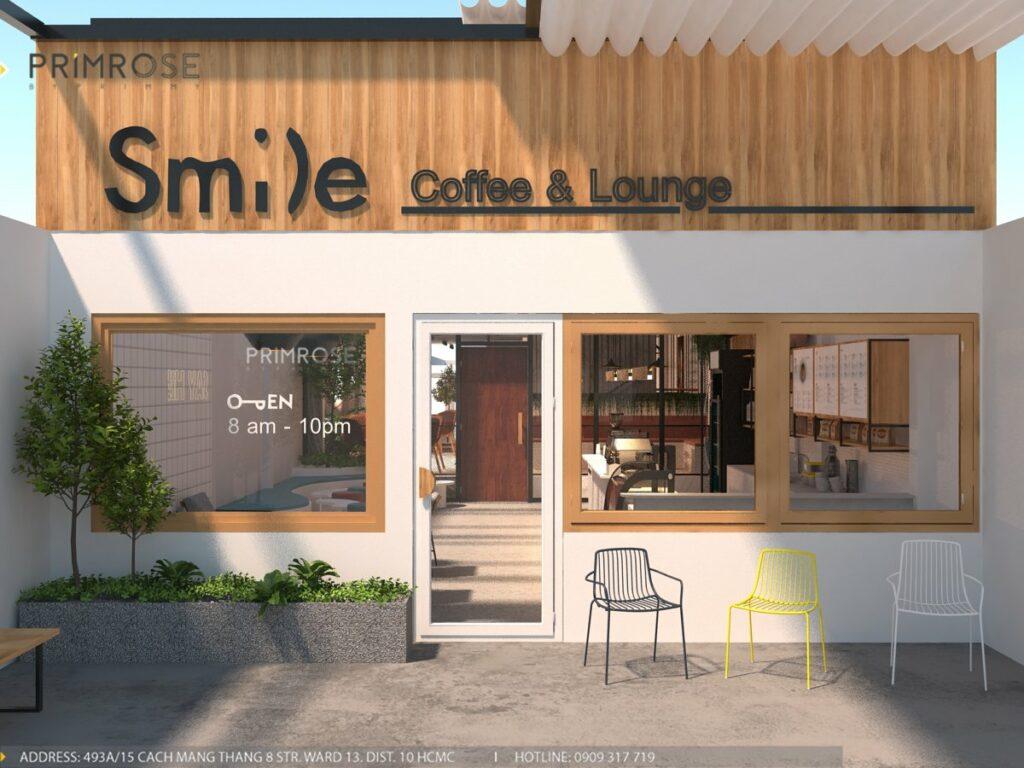 Thiết kế quán cafe Lounge Smile 700m2 thiet ke quan cafe hien dai 14 1