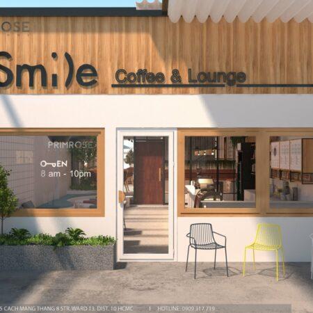 Thiết kế quán cafe Lounge Smile 700m2