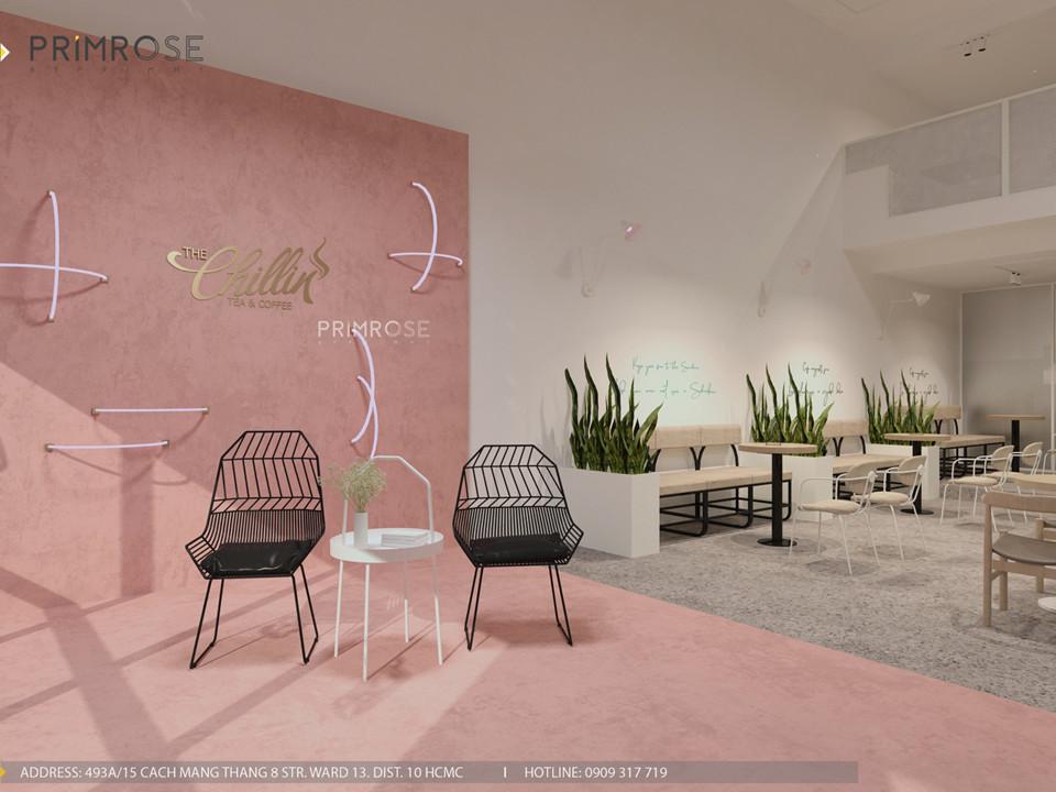 Thiết kế quán The Chillin Tea & Coffee 750m2 tại Bà Rịa, Vũng Tàu thiet ke quan cafe hien dai 17