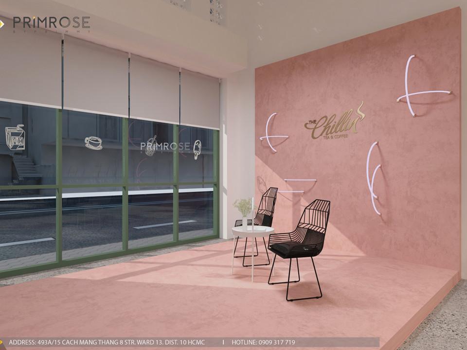 Thiết kế quán The Chillin Tea & Coffee 750m2 tại Bà Rịa, Vũng Tàu thiet ke quan cafe hien dai 18