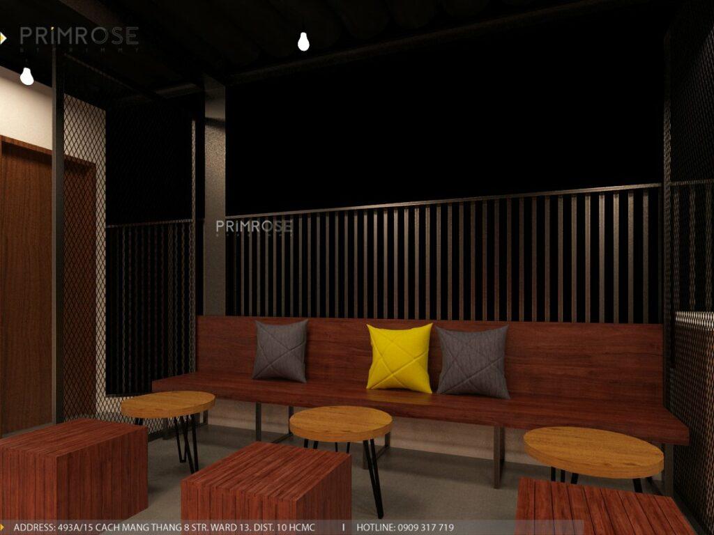 Thiết kế quán cafe Lounge Smile 700m2 thiet ke quan cafe hien dai 19 1