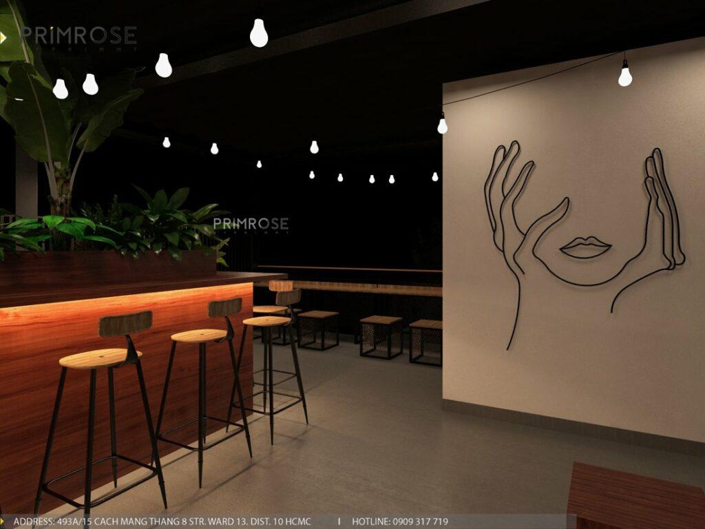 Thiết kế quán cafe Lounge Smile 700m2 thiet ke quan cafe hien dai 20 1