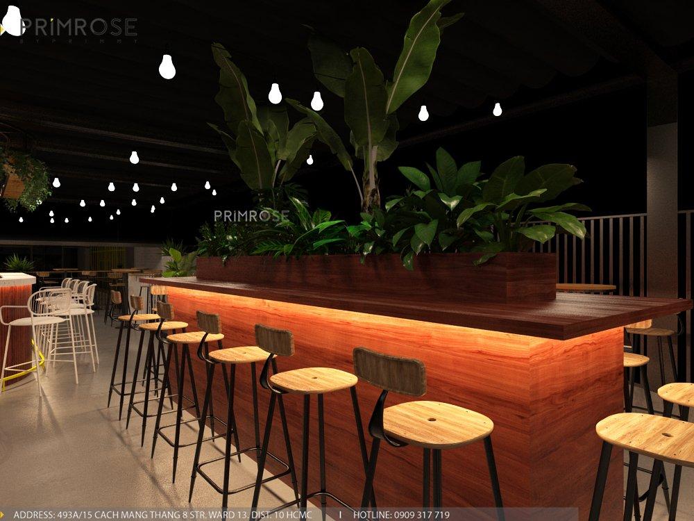 Thiết kế quán cafe Lounge Smile 700m2 thiet ke quan cafe hien dai 21 1