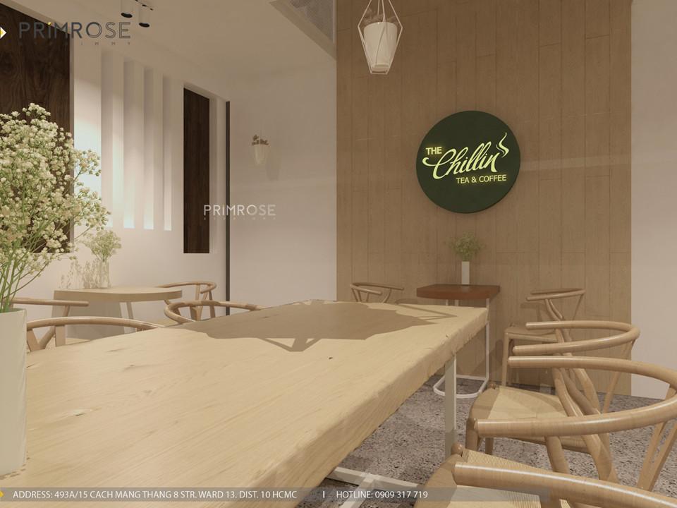 Thiết kế quán The Chillin Tea & Coffee 750m2 tại Bà Rịa, Vũng Tàu thiet ke quan cafe hien dai 21