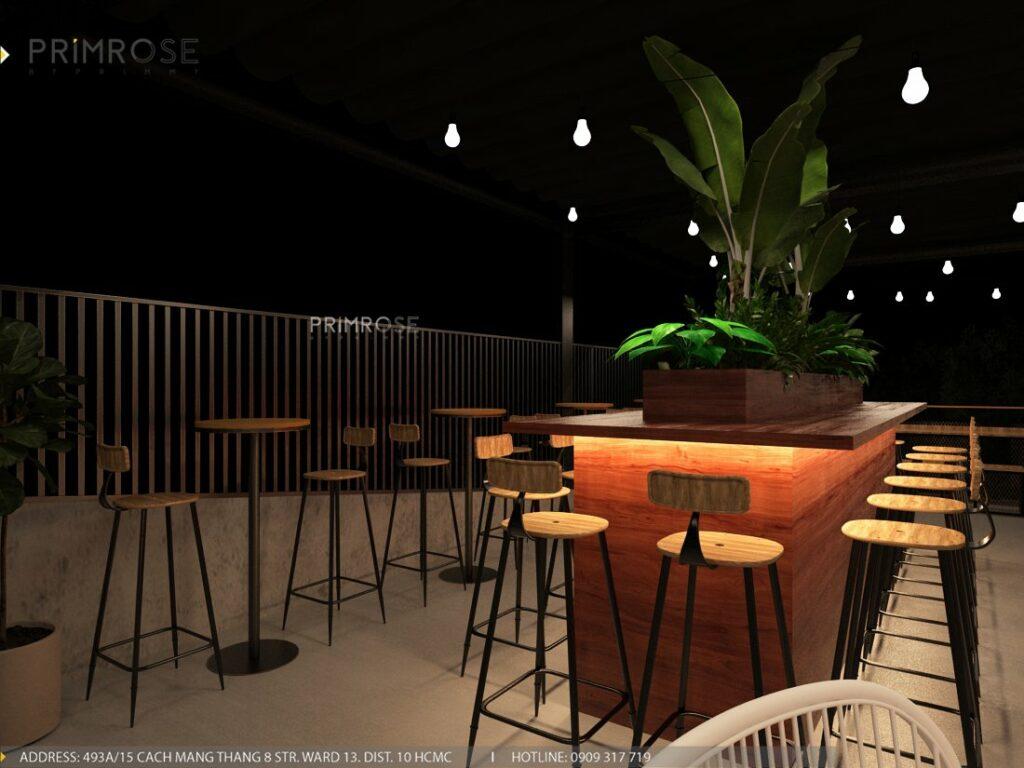 Thiết kế quán cafe Lounge Smile 700m2 thiet ke quan cafe hien dai 23 1