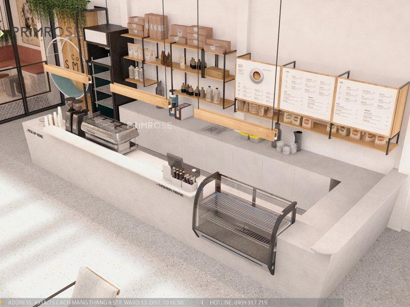 Thiết kế quán cafe Lounge Smile 700m2 thiet ke quan cafe hien dai 25 1