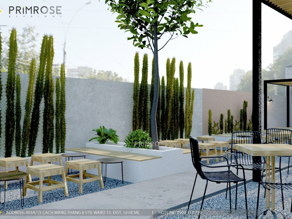 Thiết kế quán cafe Lounge Smile 700m2 thiet ke quan cafe hien dai 26 1