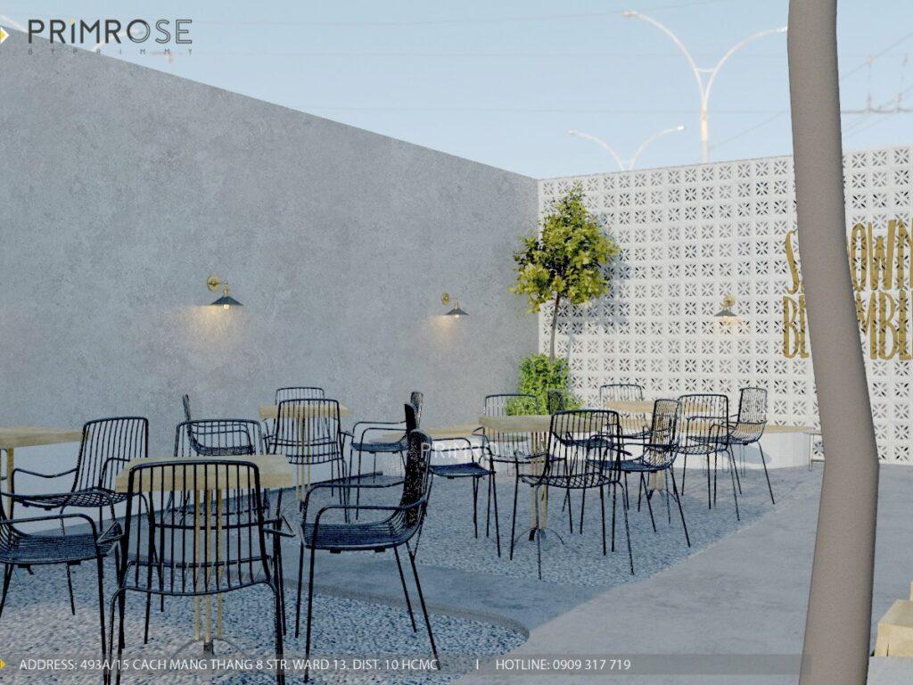 Thiết kế quán cafe Lounge Smile 700m2 thiet ke quan cafe hien dai 3 1