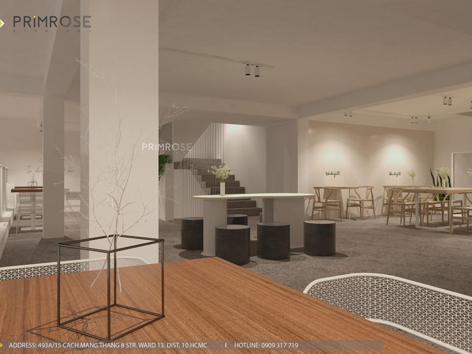 Thiết kế quán The Chillin Tea & Coffee 750m2 tại Bà Rịa, Vũng Tàu thiet ke quan cafe hien dai 30
