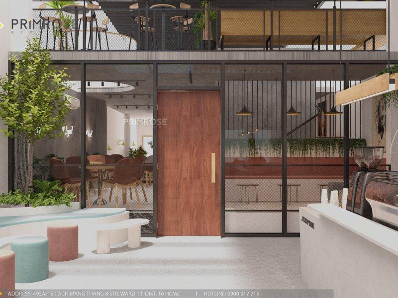 Thiết kế quán cafe Lounge Smile 700m2 thiet ke quan cafe hien dai 5 1