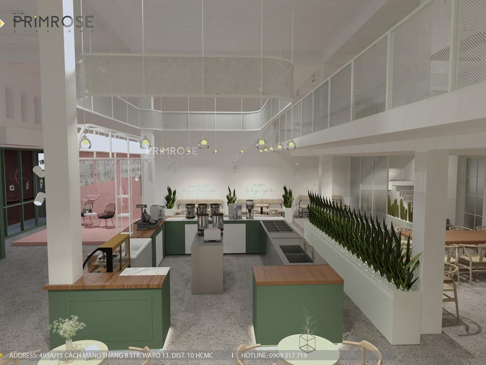 Thiết kế quán The Chillin Tea & Coffee 750m2 tại Bà Rịa, Vũng Tàu thiet ke quan cafe hien dai 8