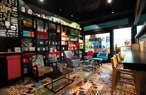 Thiết kế quán cafe phong cách Retro - Nét đẹp vượt thời gian thiet ke quan cafe phong cach Retro 5
