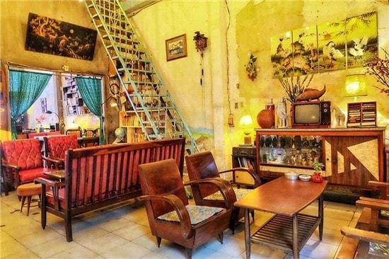 Thiết kế quán cafe phong cách Retro - Nét đẹp vượt thời gian thiet ke quan cafe phong cach Retro 6