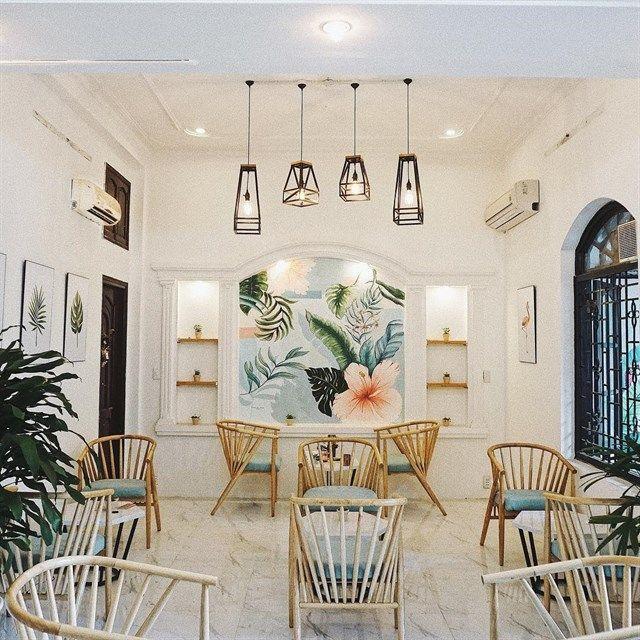 5 Phong cách quán cafe hot nhất hiện nay thiet ke quan cafe tropical 2