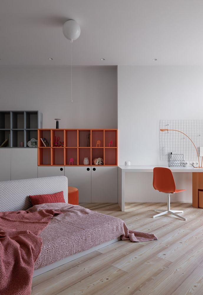 Mẫu căn hộ ấm áp với tông xám tối giản thiet ke can ho hien dai 14
