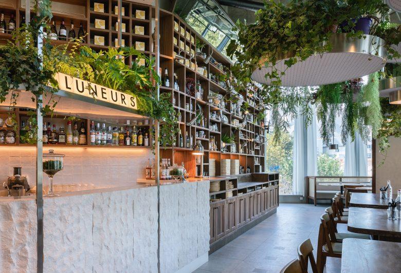 Không gian nhà hàng phá cách với phong cách nội thất TROPICAL thiet ke nha hnag phong cach nhiet doi 10