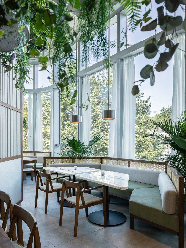 Không gian nhà hàng phá cách với phong cách nội thất TROPICAL thiet ke nha hnag phong cach nhiet doi 11