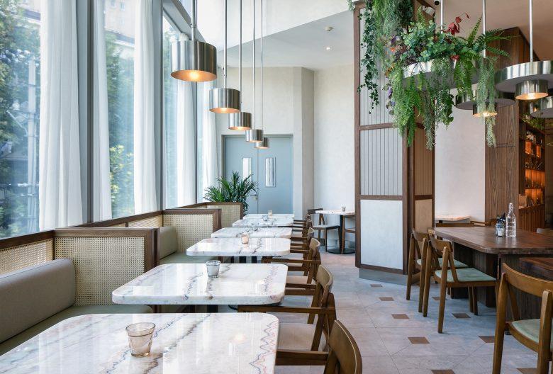 Không gian nhà hàng phá cách với phong cách nội thất TROPICAL thiet ke nha hnag phong cach nhiet doi 5