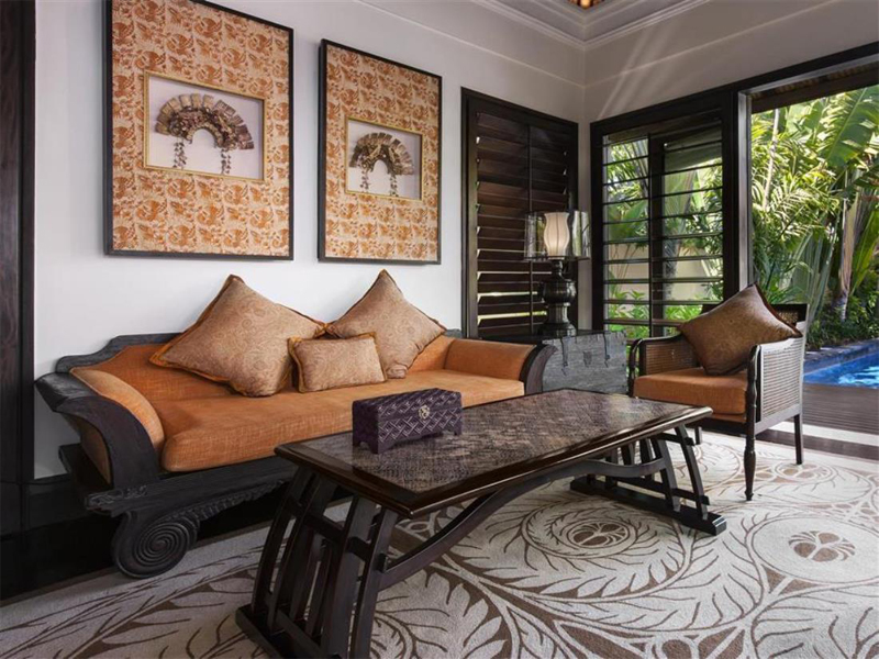 Thiết kế nội thất căn hộ phong cách Indochine - Mang vẻ đẹp hoài cổ thiet ke noi that can ho phong cach INDOCHINE 5