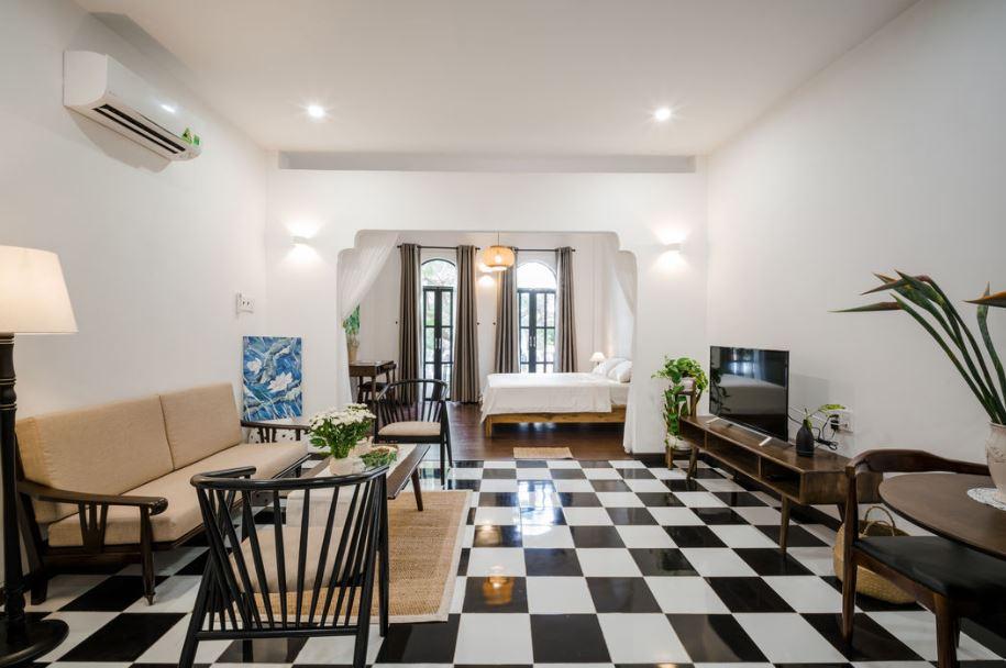 Thiết kế nội thất căn hộ phong cách Indochine - Mang vẻ đẹp hoài cổ thiet ke noi that can ho phong cach INDOCHINE 6